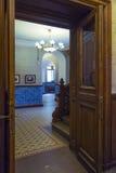 Cámaras de palacio de Massandra, Crimea Foto de archivo