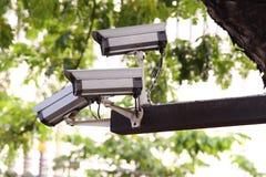 Cámaras de seguridad Imagenes de archivo