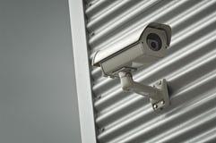 Cámaras de seguridad de la vigilancia Fotos de archivo libres de regalías
