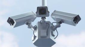 Cámaras de seguridad futuristas metrajes
