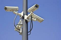 Cámaras de seguridad múltiples Imagenes de archivo