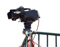 Cámaras de televisión foto de archivo libre de regalías