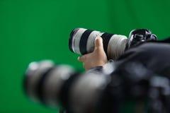 Cámaras de vídeo Fotos de archivo libres de regalías