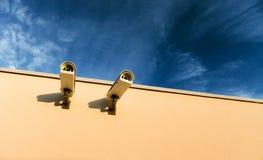 Cámaras de vídeo de la seguridad Foto de archivo libre de regalías