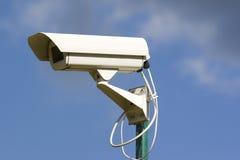 Cámaras de vídeo de la seguridad Fotografía de archivo