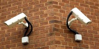 Cámaras de vigilancia Imagen de archivo libre de regalías