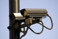 Cámaras de vigilancia Foto de archivo libre de regalías