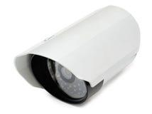 Cámaras de vigilancia video Fotografía de archivo libre de regalías