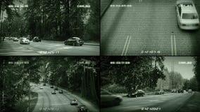 Cámaras del camino del CCTV metrajes