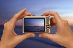Cámaras digitales fotos de archivo