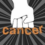 cáncer ilustración del vector
