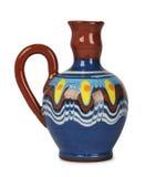 Cántaro de cerámica Fotografía de archivo