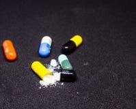 Cápsula de la droga Fotos de archivo libres de regalías