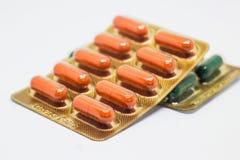 Cápsula de la droga Fotos de archivo