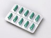 Cápsula de las píldoras foto de archivo libre de regalías
