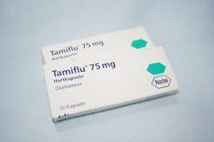 Cápsula de Tamiflu Fotografía de archivo libre de regalías