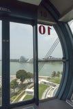 Cápsula interior del aviador de Singapur Fotos de archivo libres de regalías