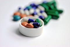 Cápsula y píldoras de la medicina Fotos de archivo