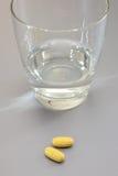 Cápsulas da medicamentação Fotografia de Stock