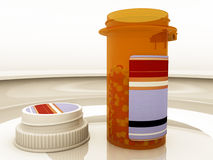 Cápsulas de la medicina Imagen de archivo libre de regalías