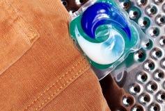 Cápsulas del gel para lavarse Imagenes de archivo
