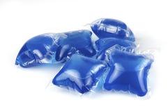 Cápsulas detergentes Foto de archivo libre de regalías