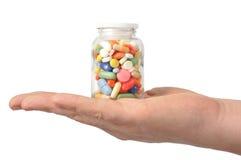 Cápsulas e comprimidos imagens de stock