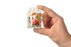 Cápsulas e comprimidos imagem de stock royalty free