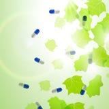 Cápsulas médicas de la píldora Fotos de archivo libres de regalías