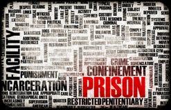 Cárcel stock de ilustración