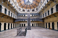 Cárcel de Kilmainham, Dublín, Irlanda foto de archivo