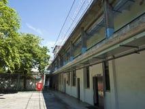 Cárcel de la prisión de Jing-Mei Human Rights Memorial y del parque cultural Imagenes de archivo
