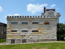 Cárcel del condado de Macoupin Fotos de archivo