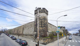 Cárcel del este del estado en Philadelphia - PHILADELPHIA - PENNSYLVANIA - 6 de abril de 2017 foto de archivo
