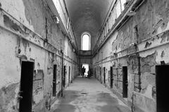 Cárcel vieja en Philadelphia, Pennsylvania imagenes de archivo