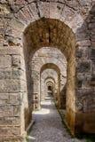Cárceles de la acrópolis, griego clásico Fotografía de archivo