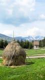 Cárpatos, vista de la montaña Syvulya Fotografía de archivo libre de regalías