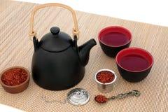 Cártamo Herb Tea Imagem de Stock Royalty Free
