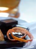 Cáscara anaranjada Fotos de archivo libres de regalías