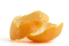 Cáscara anaranjada Fotografía de archivo libre de regalías