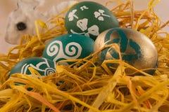 Cáscara de huevo de Pascua Fotografía de archivo