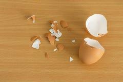 Cáscara de huevo puesta Foto de archivo libre de regalías
