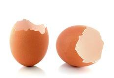 Cáscara de huevo quebrada Foto de archivo libre de regalías