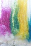Cáscara de humo del color Foto de archivo libre de regalías