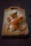 Cáscara de la cebolla Imagen de archivo libre de regalías