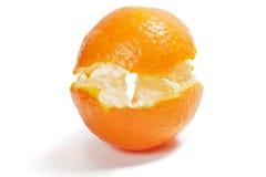 Cáscara de la fruta cítrica Foto de archivo libre de regalías