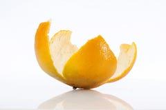 Cáscara de la mandarina Fotografía de archivo libre de regalías