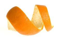Cáscara de la naranja Foto de archivo libre de regalías