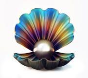 Cáscara de la perla ilustración del vector