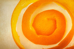 Cáscara de naranja Fotos de archivo libres de regalías